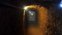 Halep'in Doğusunda 500 Metrelik Tünel Bulundu