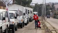 Halep'e yardım taşıyan konvoya saldırı