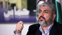 """Halid Meşal: """"Yüzyılın anlaşması"""" yenilgiye uğrayacak"""