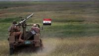 Irak'ta Ceziret'ul Halidiyye bölgesi IŞİD'den kurtarıldı