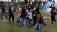 Siyonist İsrail Güçleri Sınıra Yürümek İsteyen Gazze Halkına Ateş Açtı