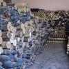 Hama'da teröristlere ait cephanelik ele geçirildi