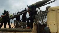 Filistin Direniş Güçleri, Siyonist Yerleşkeleri Füzeyle Vurdu