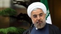 İran Cumhurbaşkanı Ruhani: ABD nükleer silahla tehdit ederken barıştan dem vuruyor