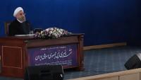 Hasan Ruhani'den ABD'ye Sert Tepki: Trump'ın yaygaraları, Bercam'da değişiklik yaptıramaz