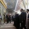 Ruhani ve kabine üyeleri İmam'ın hareminde biat tazeledi