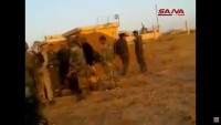 Video: Haseke'de IŞİD Teröristlerinin Bomba Yüklü Aracı Askeri Noktaya Ulaşamadan İmha Ediliyor
