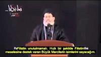 Video: Seyyid Haşim Haydari'den Filistin'in Önemi…