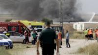 İspanya'da bir havai fişek fabrikasında şiddetli bir patlama meydana geldi