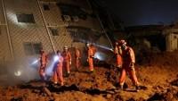 Çin'de meydana gelen heyelanda kayıpların sayısı 91'e çıktı