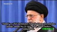 İmam Hamaney: Sünni ve Şii kelimelerini ABD kullanınca endişelendik!