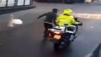 Hollanda polisinden insanlık dışı uygulama…