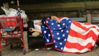 İşte Ultra Süper Güç ABD; Evsizlerin Sokakta Uyuması da Yasaklandı!