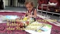 Video: 3 Yaşındaki Kız Çocuğunun Rehber Ali Hamaney'e Muhabbeti