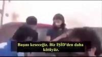 """Türkiye'nin desteklediği ÖSO'ya Bağlı Nureddin Zengi Birliği Teröristlerinin """"Beni kurşunlayarak öldürün"""" diye yalvarmasına rağmen başını kestikleri 12 yaşındaki Filistinli Mülteci Abdullah isa"""