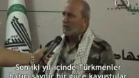 """VİDEO- Türkiyeli Yetkililerinin #Türkmenlerin Dostumu Yoksa Düşmanı mı Olduğunu Yine #Türkmen Asıllı #Haşdi Şabi Birlikleri Yardımcısı """"EBU MUSTAFA İMÂMΔ'nin Ağzından Dinleyelim"""