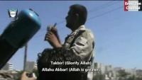 Video: Suriye'deki teröristler kimyasal silah atmadan önce gururla anlatıyor