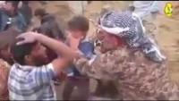 Kendilerine sığınan Musullu çocuğun susamışlığı karşısında kendini tutamayıp ağlayan Irak askeri….