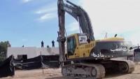 İşgal Yönetimi Na'lin Beldesinde Filistinlilere Ait Dükkanları Yıktı