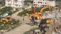 İşgal Güçleri El-İseviyye'de Filistinlilere Ait İki Evi Yıktı