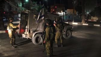 İşgal Güçleri Batı Yaka'da 17 Filistinliyi Gözaltına Aldı