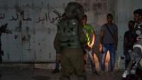 Siyonist İsrail Güçleri Batı Yaka ve Kudüs'te Birçok Noktaya Baskın Düzenledi