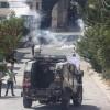 Siyonist İsrail ordusuna ait askeri araç Filistinli çocuğa çarptı