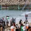 Siyonist İşgal askerleri Gazze'de deniz mitingine saldırdı