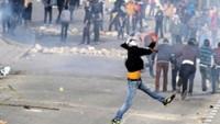 Batı Şeria'da Filistinlilerle İşgal Askerleri Arasında Çatışmalar Yaşandı 
