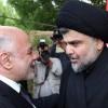 Haydar İbadi ve Mukteda Sadr, yeni hükümetin kurulmasında tüm grupların katılmasına destek verdiler