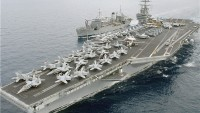 Foto: İran'a Ait İHA, ABD'ye Ait Uçak Gemisini Görüntüledi