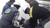 İdlip'te kimyasal saldırı senaryosu için 9 video çekimi yapıldı