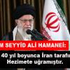 İmam Seyyid Ali Hamanei: ABD 40 yıl boyunca İran tarafından hezimete uğramıştır
