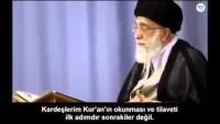 Video: İmam Ali Hamaney; KUR'ANDAN UZAK DÜŞMÜŞÜZ…