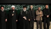 Seyyid İmam Ali Hamaney´in huzurunda Şam-ı Gariban merasimi