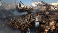 Katil Suud Yemen'de Sivilleri Hedef Almaya Devam Ediyor