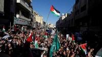 Trump Karşıtı Gösteride Arabistan Sloganları