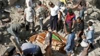 Katil Suud Rejimi Yemen'de Sivilleri Öldürmeye Devam Ediyor