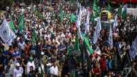 Filistin Halkı Sokağa Döküldü