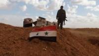 Suriye Ordusu Hama'da IŞİD'e Ait Silah Deposu Ele Geçirildi