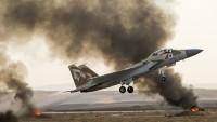 Katil İsrail Uçakları Suriye'yi Vurdu
