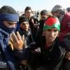 İsrail Askerleri Filistinli Gençlere Saldırdı