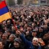 Ermenistan'da Eylemler Yayılıyor