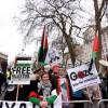 Siyonist İsrail Başbakanı Netanyahu Londra'da protesto edildi