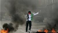 Filistinli Gençler Siyonist İşgal Güçlerine Çok Sayıda Molotof Kokteyli Attı
