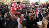 Seyyid Mukteda Sadr, Irak halkının gösterilerine katıldı