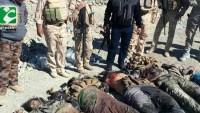Felluce'de 14 IŞİD mevzisi yerle bir edildi, 60 terörist öldürüldü