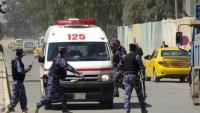 Bağdat'ta patlama: 3 ölü 14 yaralı