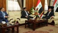 Irak Savunma bakanı, Suriye'nin Bağdat Büyükelçisi ile görüştü