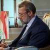 Laricani'den Irak Başbakanı'na kutlama